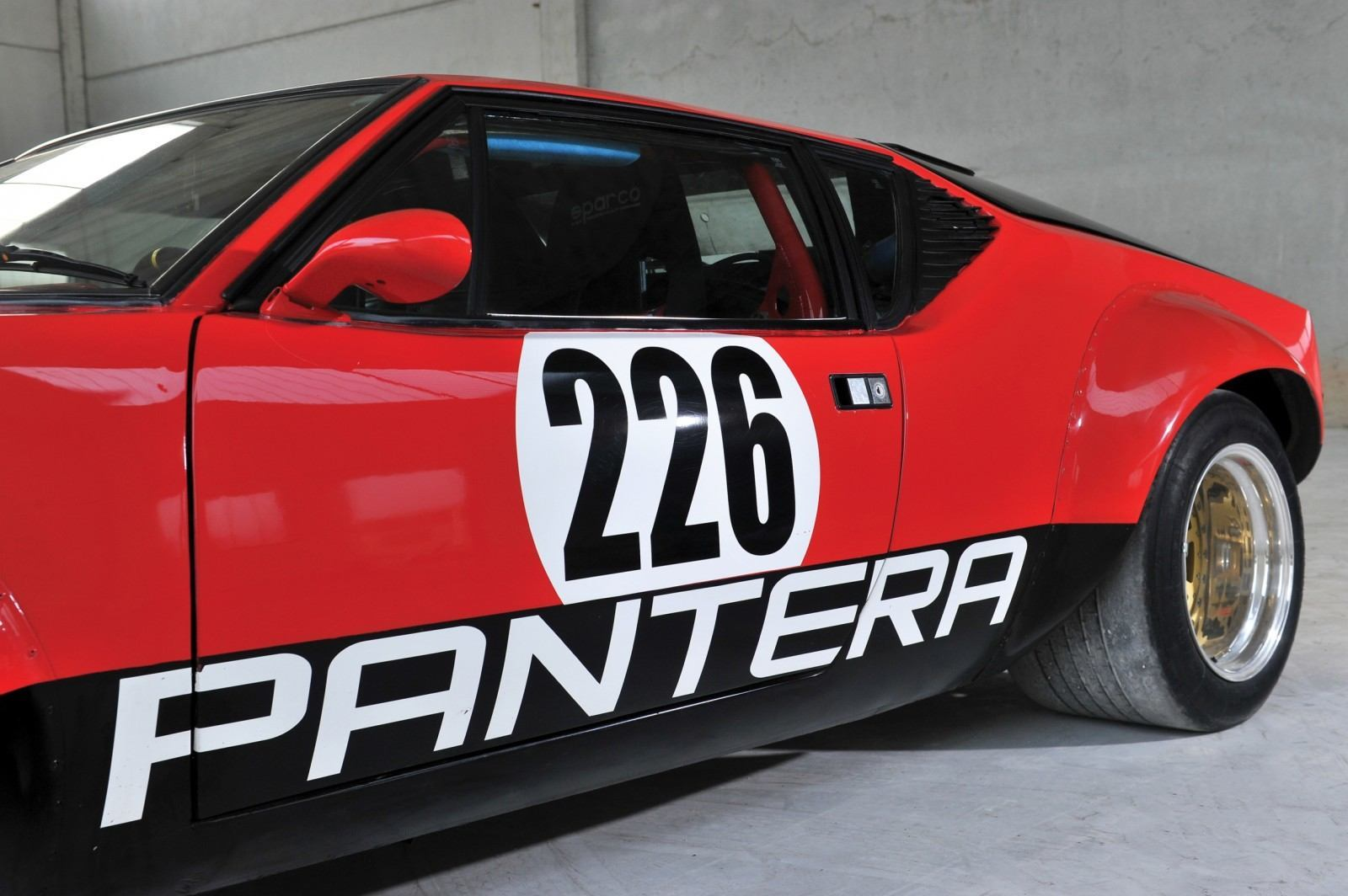 RM Auctions Monaco 2014 Highlights - 1973 DeTomaso Pantera Rally Special Is Low-Brow Heaven 6