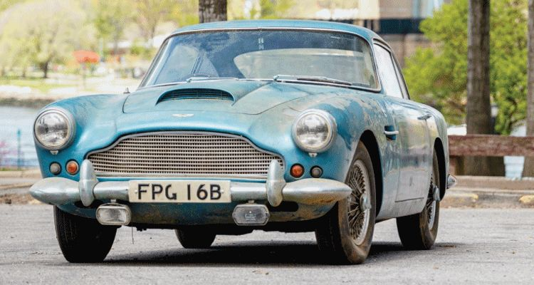 RM Auctions Monterey 2014 Preview - 1961 Aston-Martin DB4 GIF header