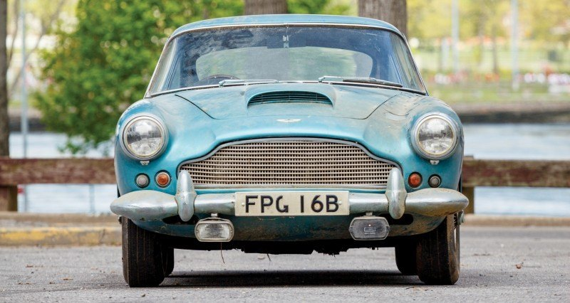 RM Auctions Monterey 2014 Preview - 1961 Aston-Martin DB4 Lost by Castrol Ltd, Found By You 15