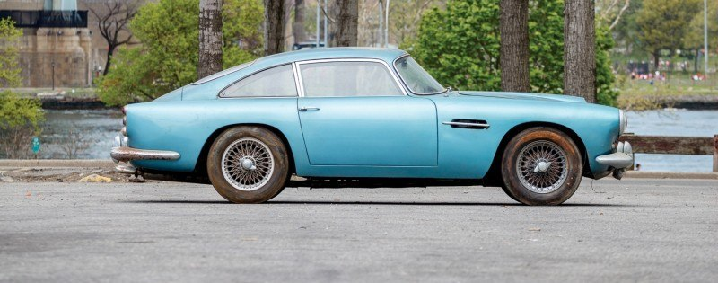 RM Auctions Monterey 2014 Preview - 1961 Aston-Martin DB4 Lost by Castrol Ltd, Found By You 5