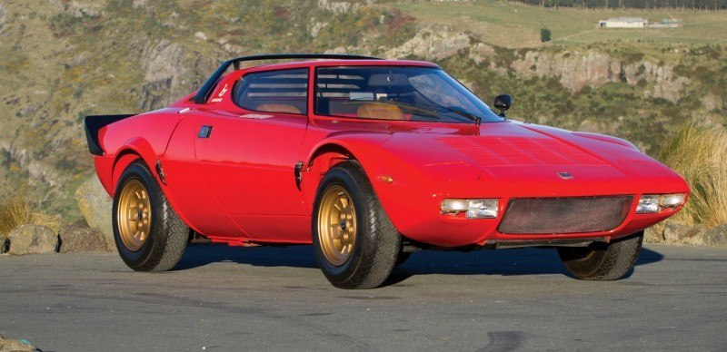 RM Auctions Monterey 2014 Preview - 1974 Lancia Stratos HF Stradale 1
