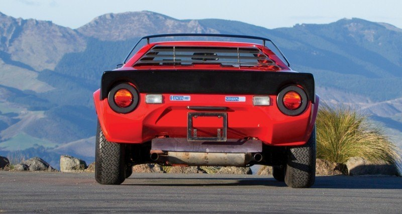 RM Auctions Monterey 2014 Preview - 1974 Lancia Stratos HF Stradale 16