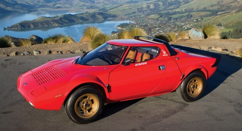 RM Auctions Monterey 2014 Preview - 1974 Lancia Stratos HF Stradale 19