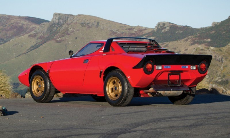RM Auctions Monterey 2014 Preview - 1974 Lancia Stratos HF Stradale 2