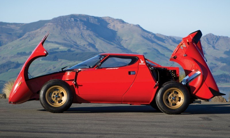 RM Auctions Monterey 2014 Preview - 1974 Lancia Stratos HF Stradale 20