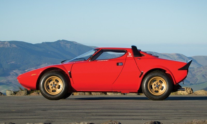 RM Auctions Monterey 2014 Preview - 1974 Lancia Stratos HF Stradale 4