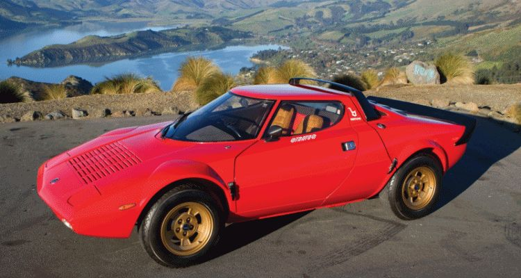RM Auctions Monterey 2014 Preview - 1974 Lancia Stratos HF Stradale GIF