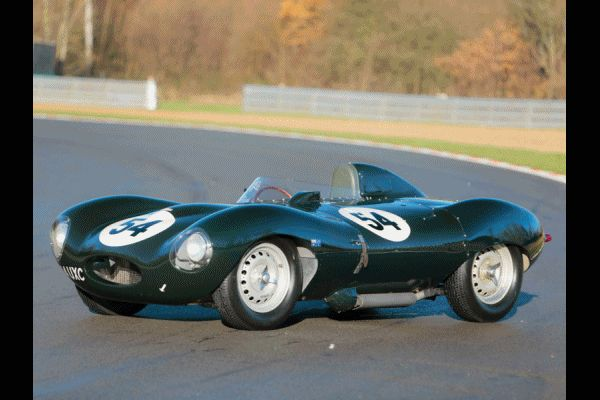 RM Auctions Paris 2014 Jaguar D-Type 1955 Animated GIF2