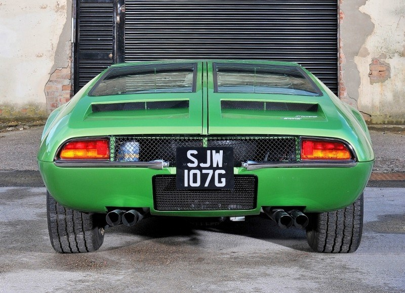 RM Monaco 2014 Highlights - 1969 DeTomaso Mangusta Brings $367k of Brutal Supercar Cash 11