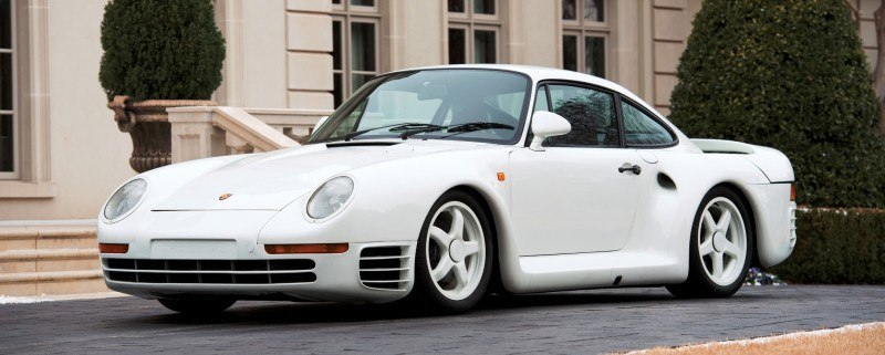 RM Monaco 2014 Highlights - 1985 Porsche 959 Prototype in Bright White Earns $653k 1