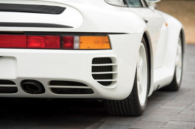 RM Monaco 2014 Highlights - 1985 Porsche 959 Prototype in Bright White Earns $653k 10