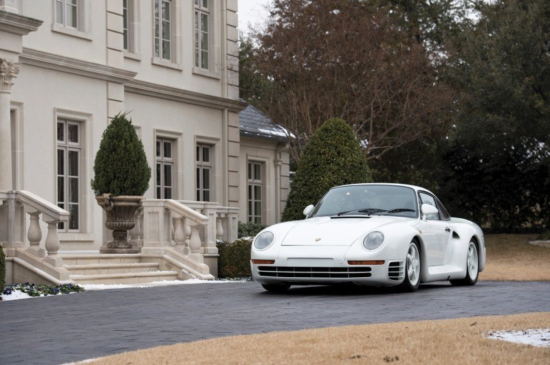 RM Monaco 2014 Highlights - 1985 Porsche 959 Prototype in Bright White Earns $653k 21