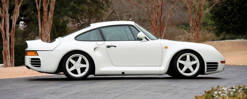RM Monaco 2014 Highlights - 1985 Porsche 959 Prototype in Bright White Earns $653k 5