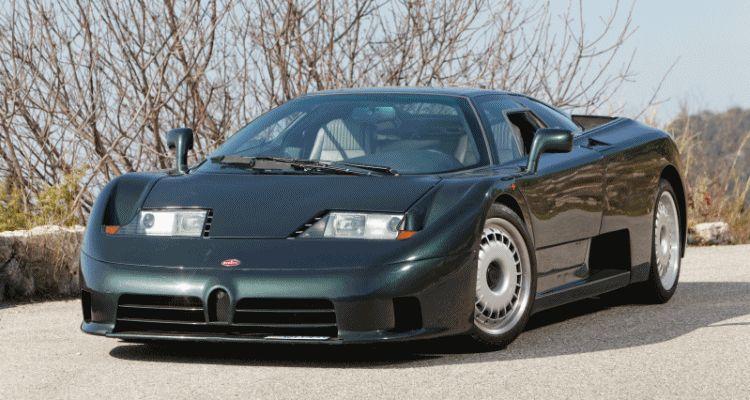 RM Monaco 2014 Highlights - 1993 Bugatti EB110 GT Brings $384k of Rapid Hypercar Class GIF header
