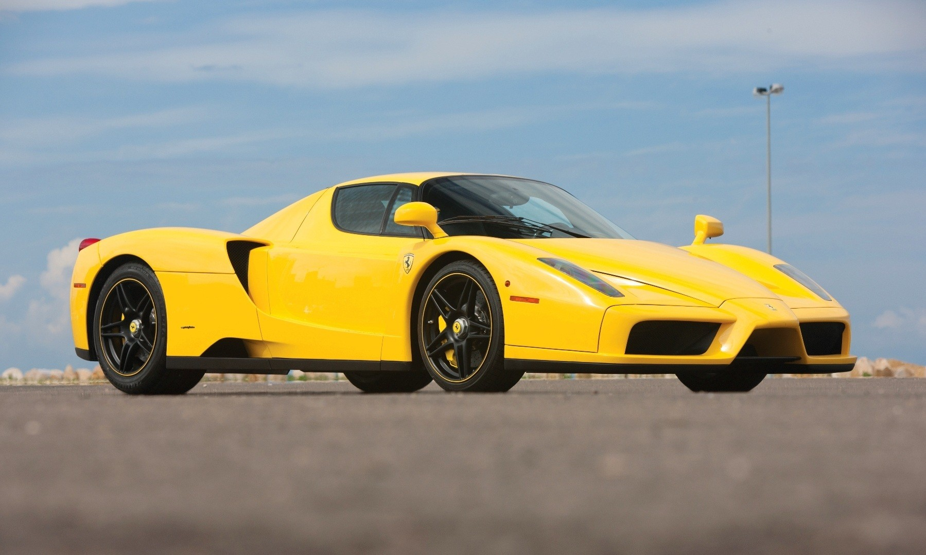 rm monaco 2014 highlights 2003 ferrari enzo in yellow over black 1 - Ferrari 2014 Yellow