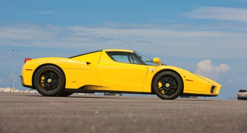 RM Monaco 2014 Highlights - 2003 Ferrari Enzo in Yellow over Black 5
