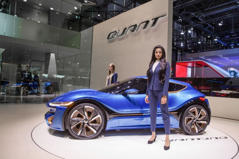 nanoFlowcell / QUANT / Salon International de L`Automobile Geneve 2015