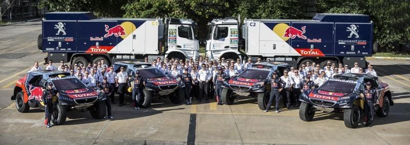 Rally Dakar 2016 Peugeot DKR16 Red Bull 19