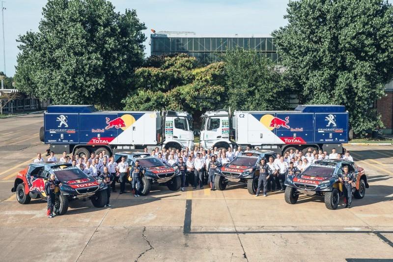 Rally Dakar 2016 Peugeot DKR16 Red Bull 22
