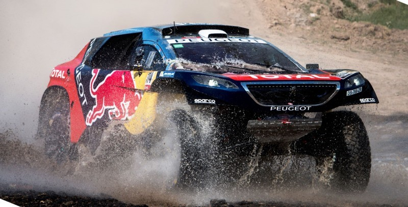 Rally Dakar 2016 Peugeot DKR16 Red Bull 27