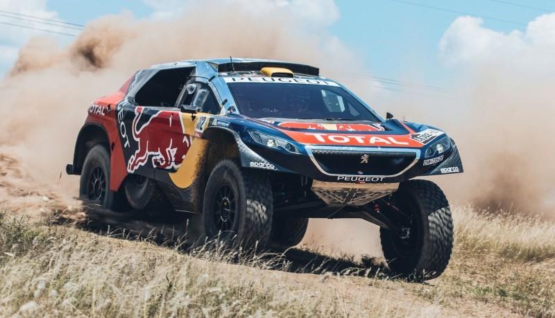 Rally Dakar 2016 Peugeot DKR16 Red Bull 7