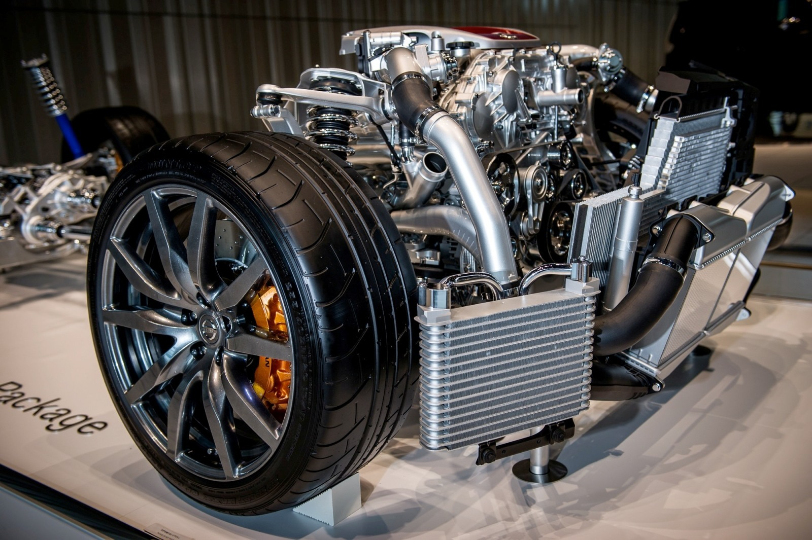 Rare Look Inside The 2014 Nissan GTR Engine Transmission and