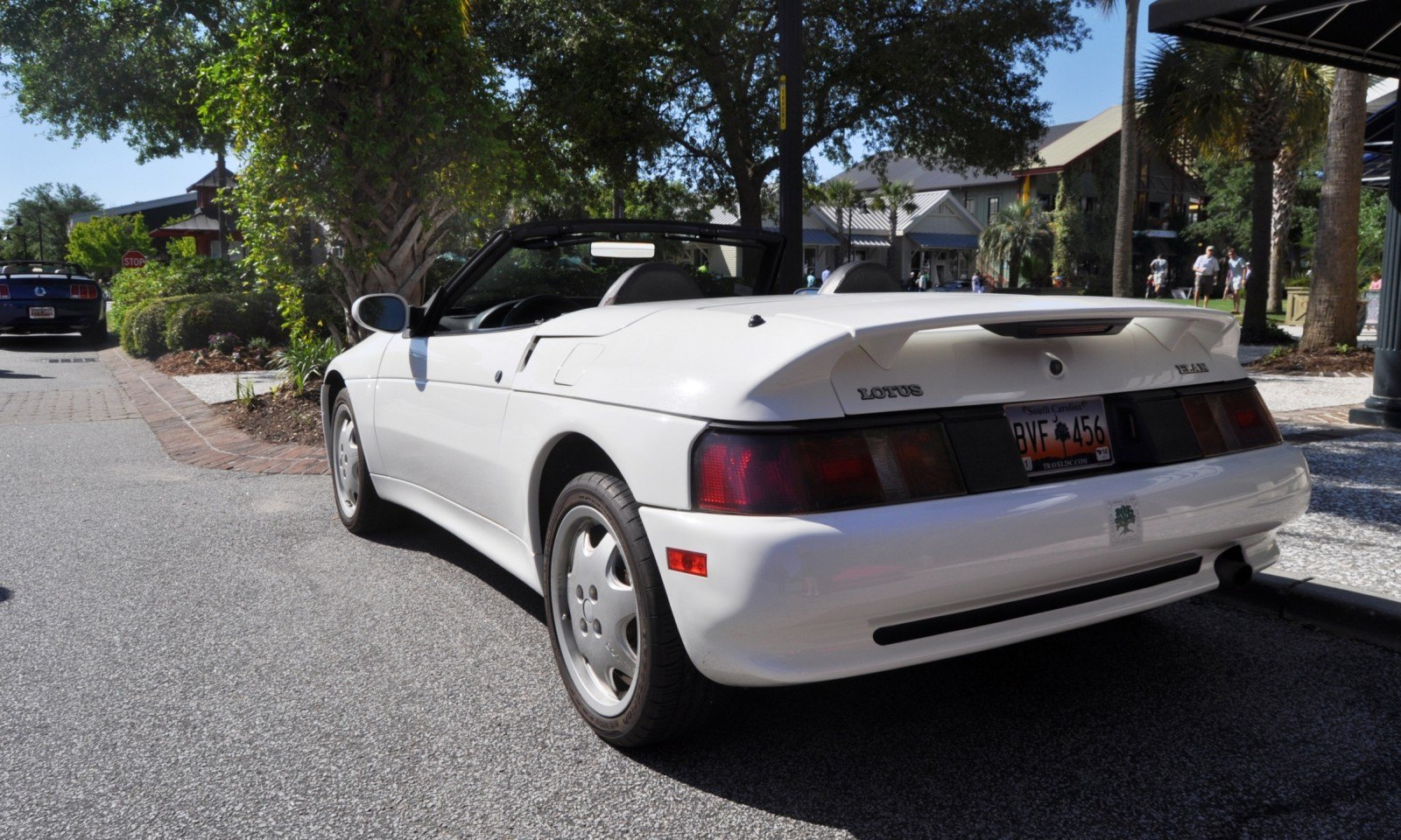Rare Ragtops - A Pair of Lotus Elans Graced Kiawah Island, SC Cars and Coffee Today 12