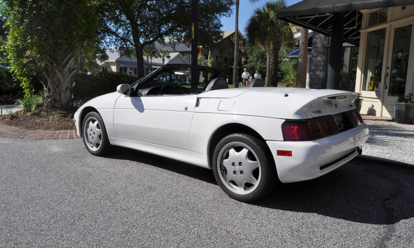 Rare Ragtops - A Pair of Lotus Elans Graced Kiawah Island, SC Cars and Coffee Today 13