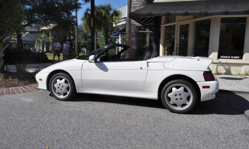 Rare Ragtops - A Pair of Lotus Elans Graced Kiawah Island, SC Cars and Coffee Today 14