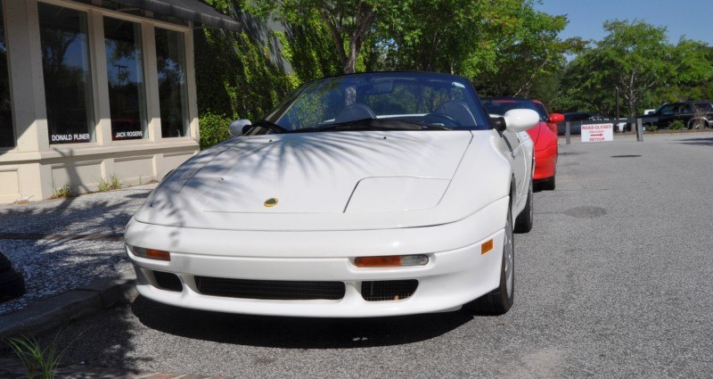 Rare Ragtops - A Pair of Lotus Elans Graced Kiawah Island, SC Cars and Coffee Today 2