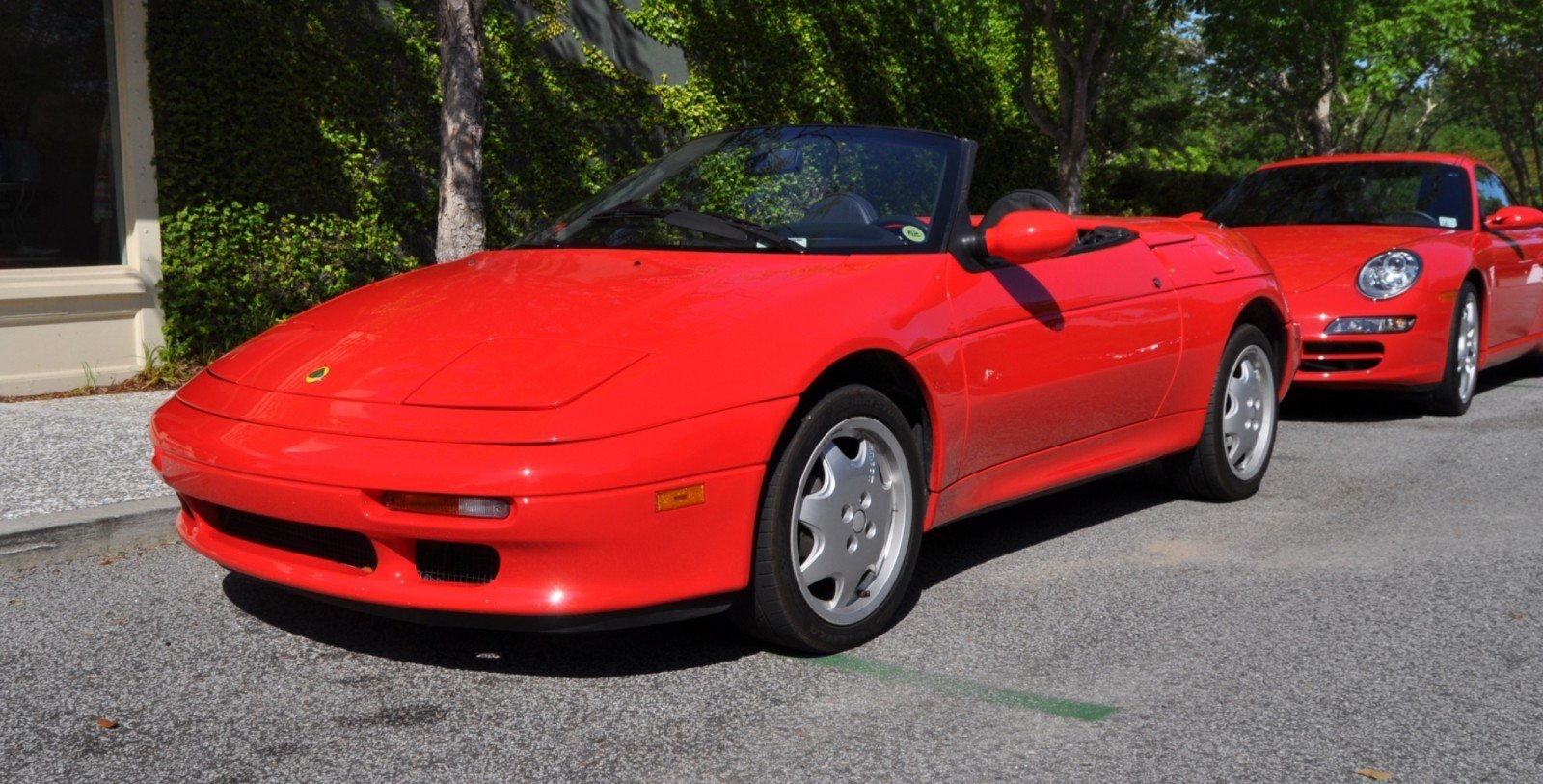 Rare Ragtops - A Pair of Lotus Elans Graced Kiawah Island, SC Cars and Coffee Today 20