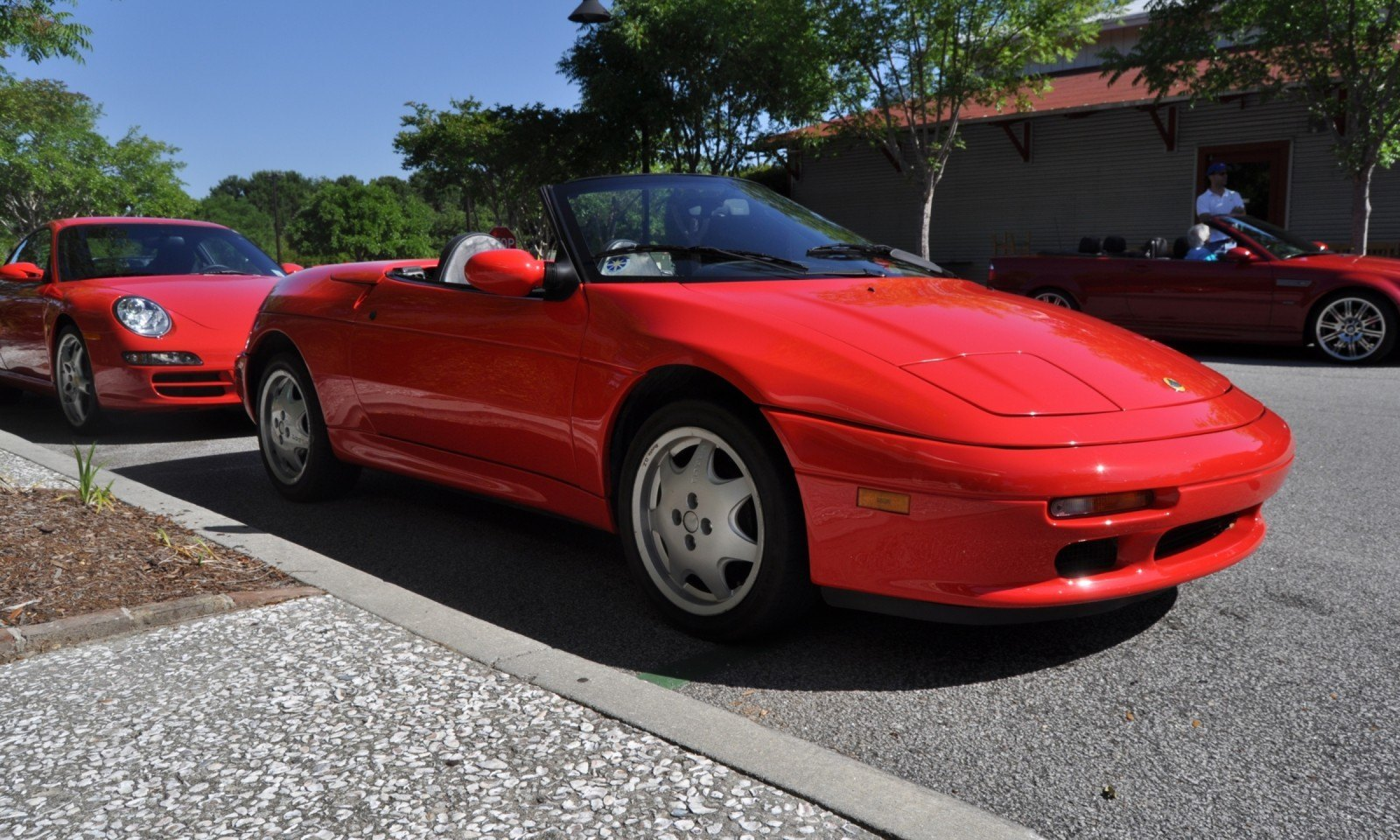Rare Ragtops - A Pair of Lotus Elans Graced Kiawah Island, SC Cars and Coffee Today 24