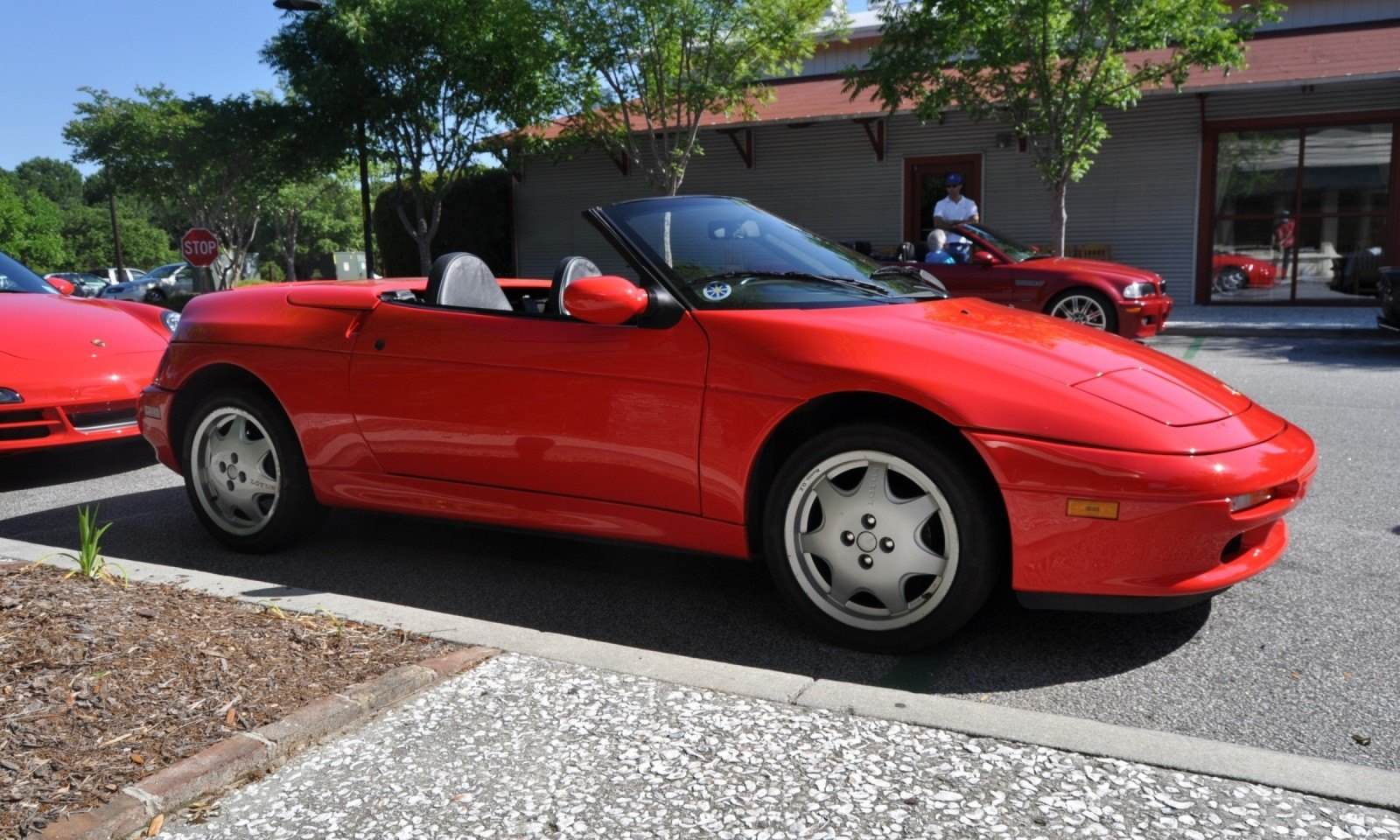 Rare Ragtops - A Pair of Lotus Elans Graced Kiawah Island, SC Cars and Coffee Today 25