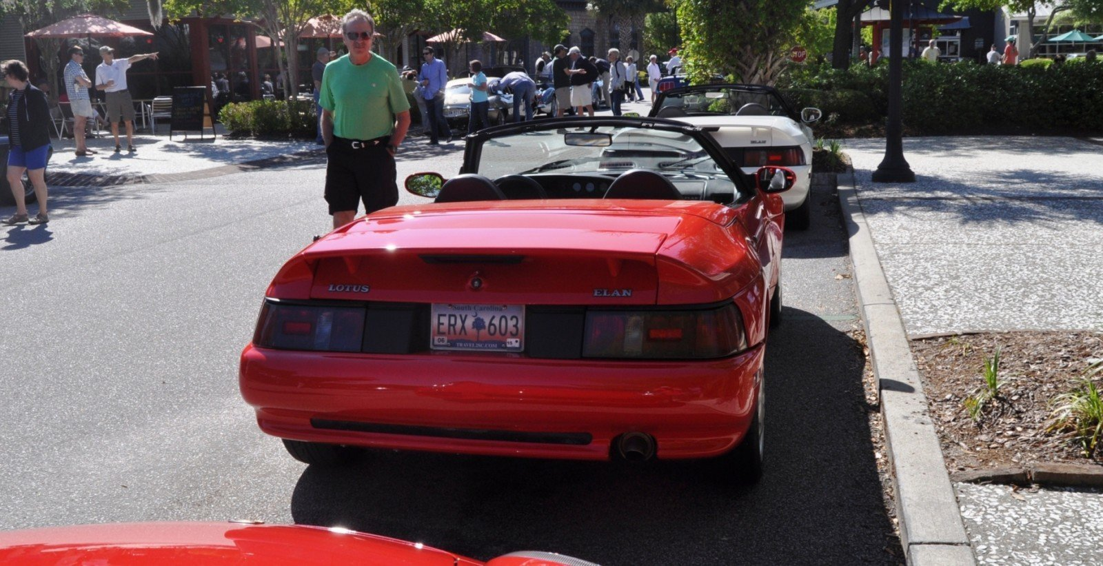 Rare Ragtops - A Pair of Lotus Elans Graced Kiawah Island, SC Cars and Coffee Today 29