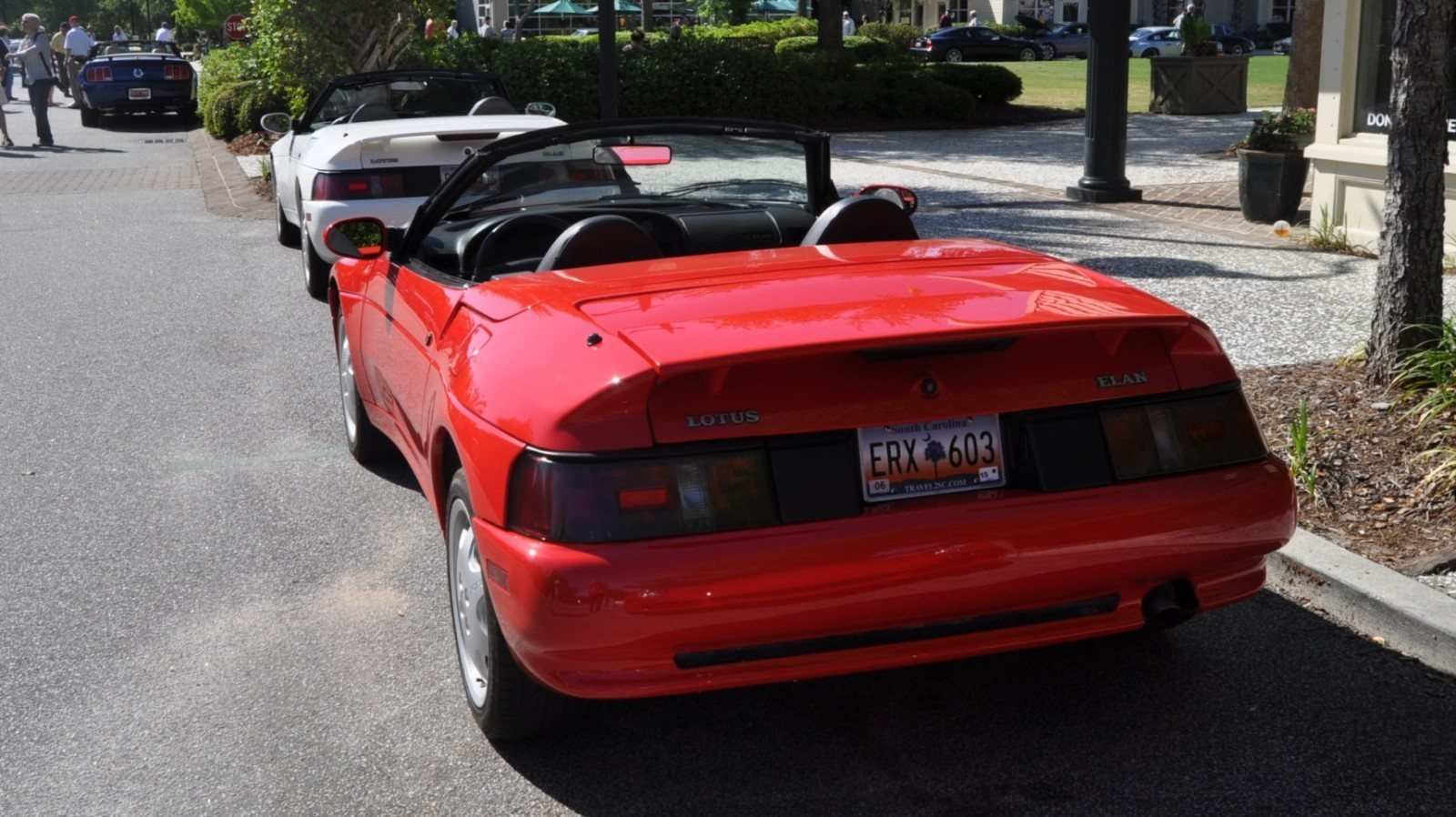 Rare Ragtops - A Pair of Lotus Elans Graced Kiawah Island, SC Cars and Coffee Today 30
