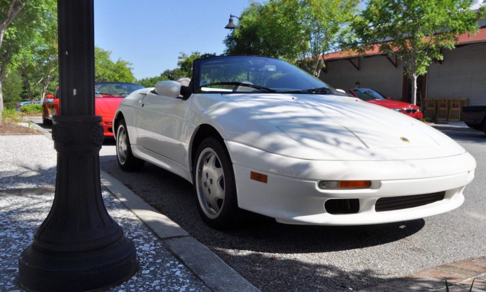 Rare Ragtops - A Pair of Lotus Elans Graced Kiawah Island, SC Cars and Coffee Today 5