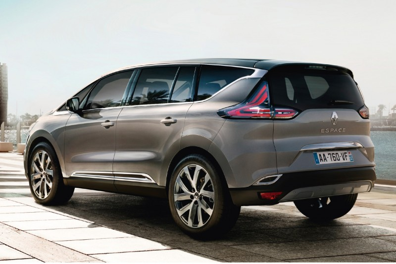 Renault Espace New for 2015 With More-Butch Styling, Will Not Come to UK 3