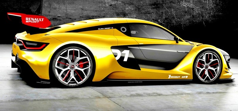 RenaultSport R.S. 01 Racecar Sets Tone for Sport Trophy One-Make Track Battles 10