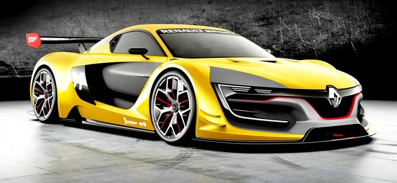 Renaultsport R S 01 Racecar Runs Gt R Engine In Mid Ship