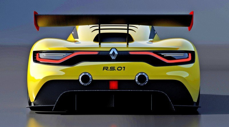 RenaultSport R.S. 01 Racecar Sets Tone for Sport Trophy One-Make Track Battles 2
