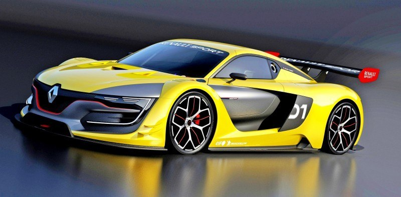 RenaultSport R.S. 01 Racecar Sets Tone for Sport Trophy One-Make Track Battles 3