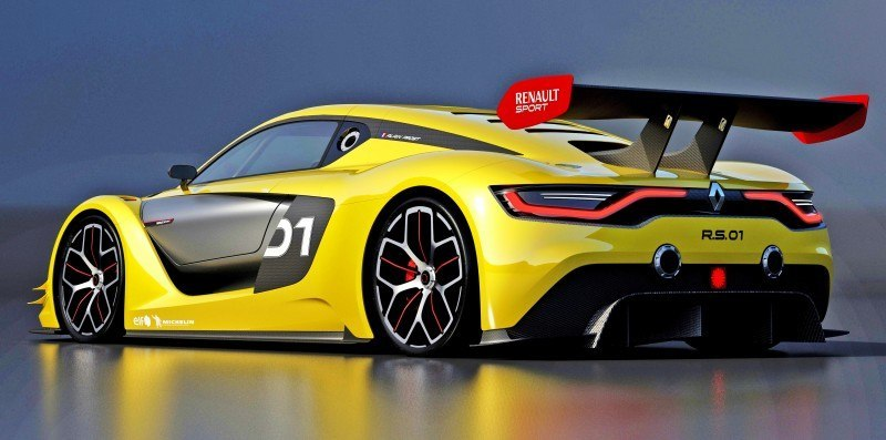 RenaultSport R.S. 01 Racecar Sets Tone for Sport Trophy One-Make Track Battles 5