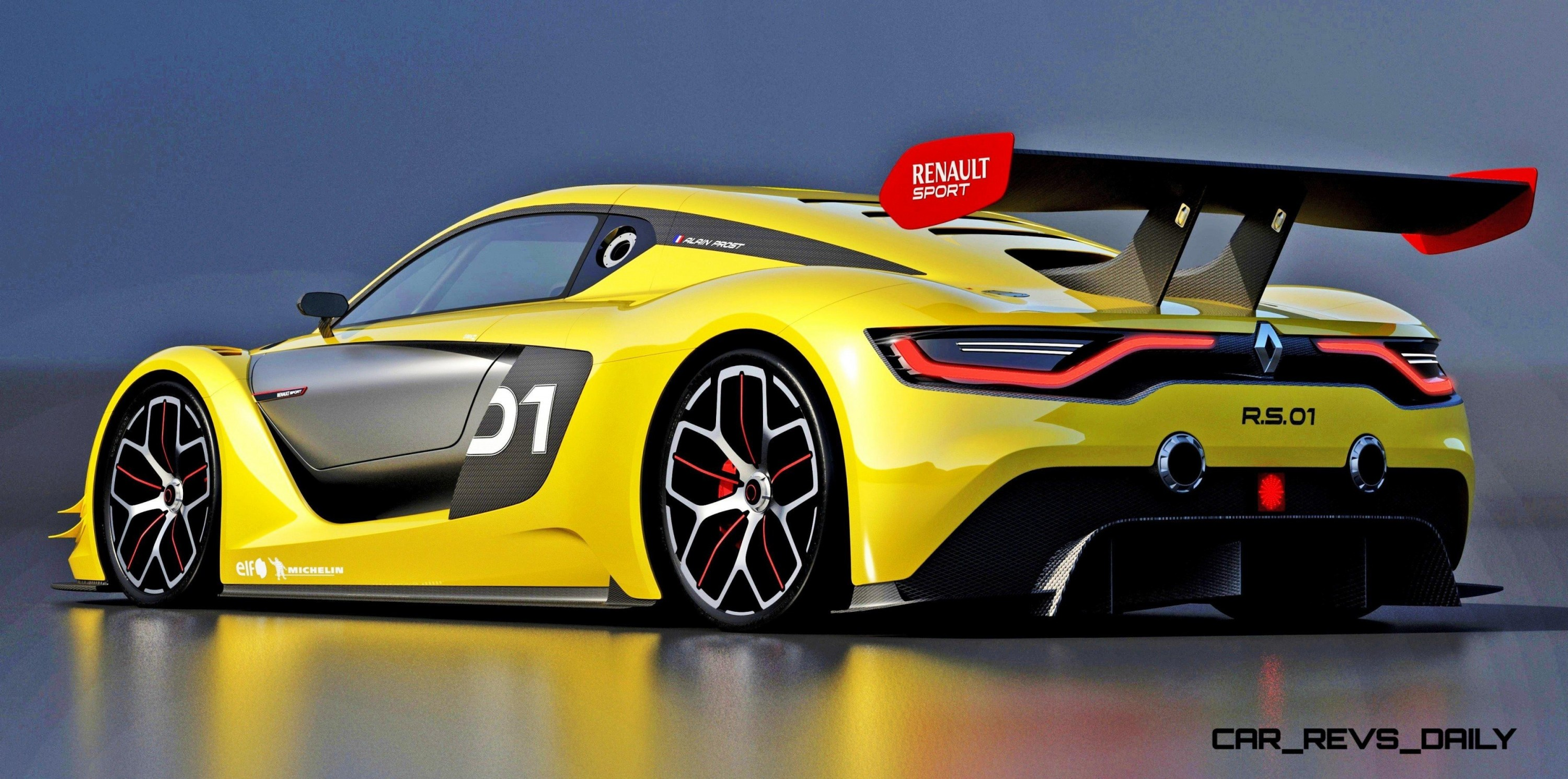 RenaultSport R.S. 01 Racecar Runs GT-R Engine In Mid-Ship