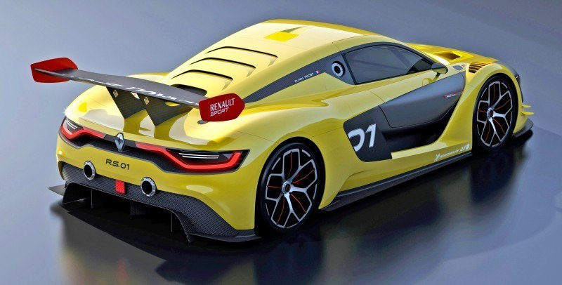 RenaultSport R.S. 01 Racecar Sets Tone for Sport Trophy One-Make Track Battles 7