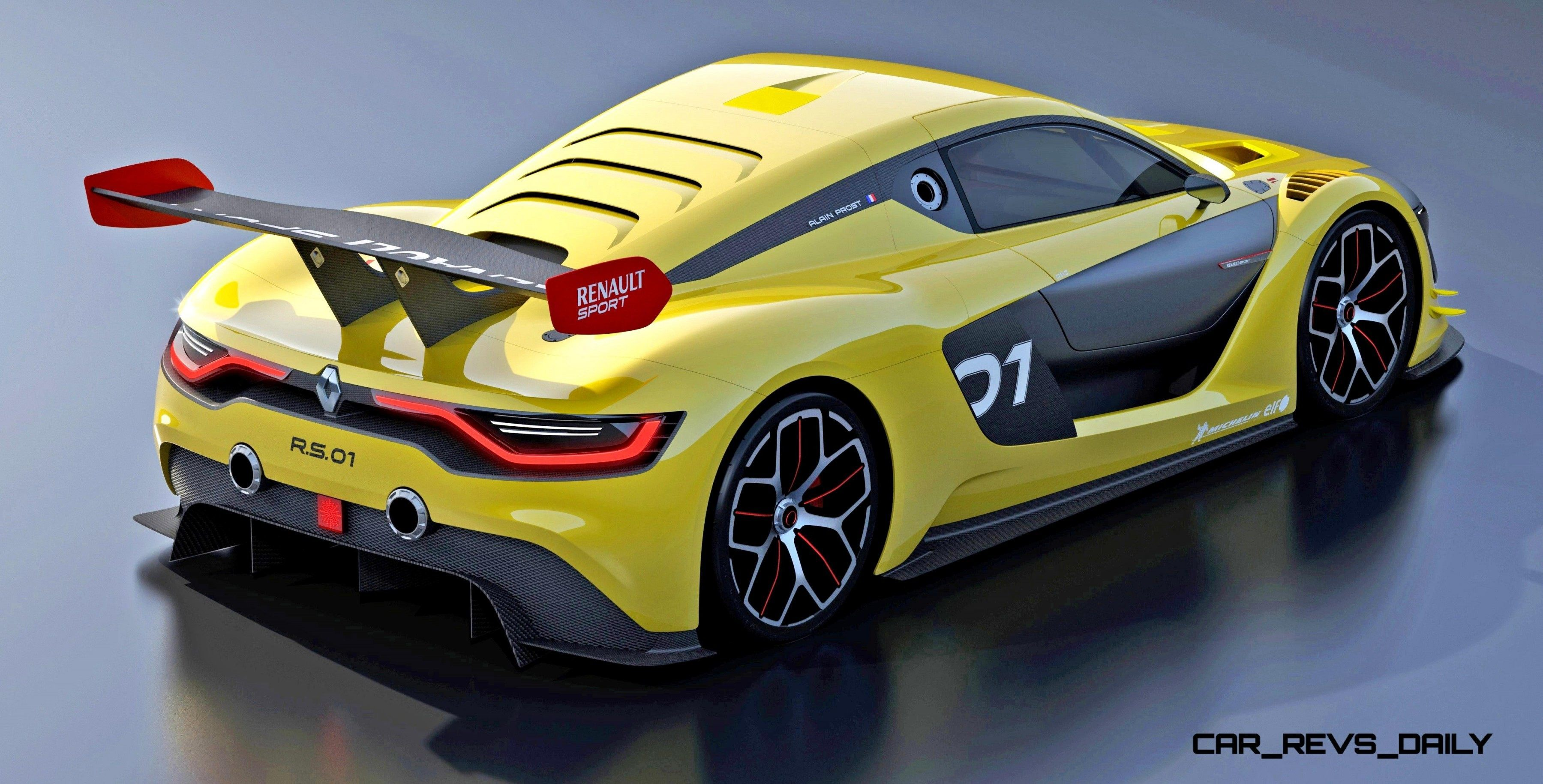 RenaultSport R.S. 01 Racecar Sets Tone for Sport Trophy One-Make Track  Battles 7 ...