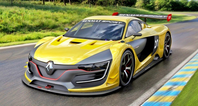 RenaultSport R.S. 01 Racecar Sets Tone for Sport Trophy One-Make Track Battles 8