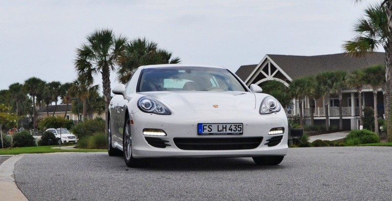 Road Test Review - 2010 Porsche Panamera S Sport Chrono is Gorgeous, Potent and Precisely Adjustable 1