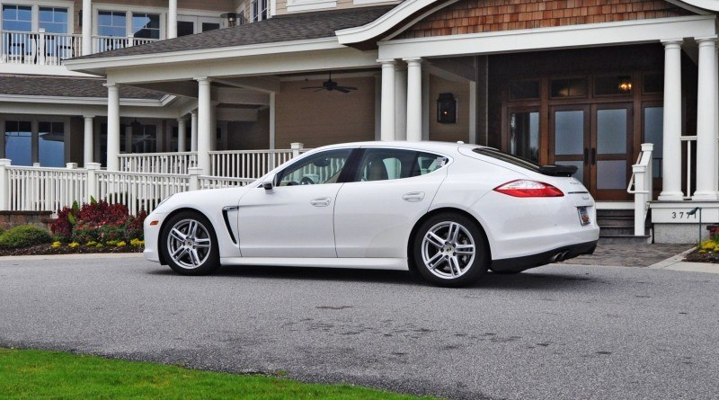 Road Test Review - 2010 Porsche Panamera S Sport Chrono is Gorgeous, Potent and Precisely Adjustable 12
