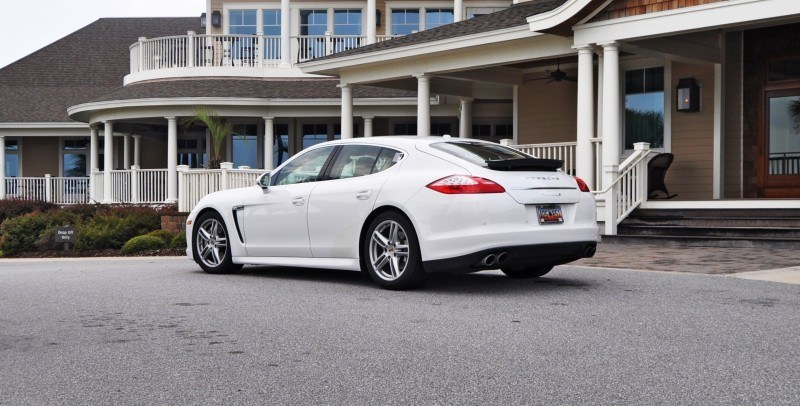 Road Test Review - 2010 Porsche Panamera S Sport Chrono is Gorgeous, Potent and Precisely Adjustable 14