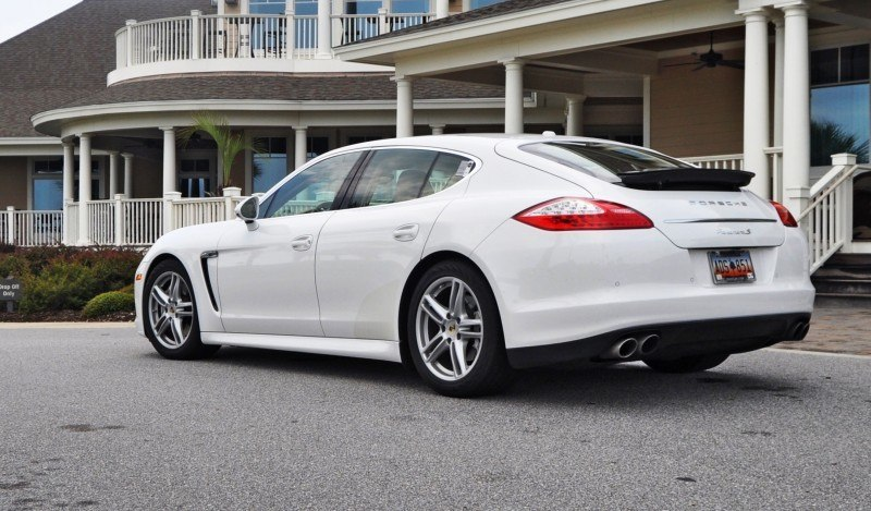 Road Test Review - 2010 Porsche Panamera S Sport Chrono is Gorgeous, Potent and Precisely Adjustable 16